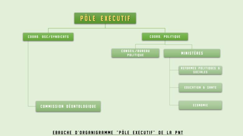 organigramme executif